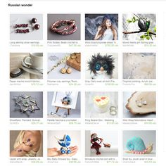 """My Owly was included in """"Russian wonder"""" Treasury by Aleksey Golovnev on Etsy"""
