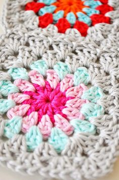 obsessed with granny squares