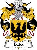 Bada Coat of Arms / Family Crest Downloadable JPG $4.75