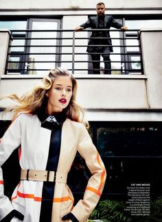 Doutzen Kroes, Vogue, balayage by Lena Ott - Suite Caroline