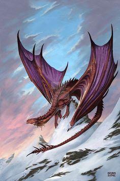 Dragon Art by BryanSyme @ deviantart