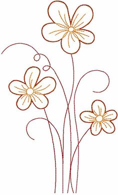45 Ideas embroidery stitches flowers free pattern design for 2019 Hand Embroidery Flowers, Flower Embroidery Designs, Free Machine Embroidery Designs, Vintage Embroidery, Hand Embroidery Patterns, Embroidery Art, Embroidery Stitches, Embroidery Sampler, Embroidery Techniques
