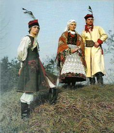 Folk Costume, Costumes, Polish Folk Art, Native Country, 7 Continents, Krakow Poland, Arte Popular, Culture, Fashion History
