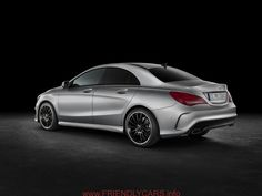 cool mercedes cla class black car images hd 2014 Mercedes CLA Class Emphasizes Style over Space JD Power