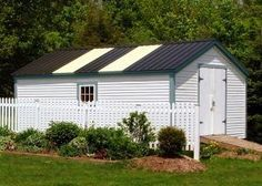 12,000 Shed Plans and Designs For Easy Shed Building! — RyanShedPlans. Build amazing sheds with over 12,000 different projects! Diy Shed Kits, Diy Shed Plans, Storage Shed Plans, Barn Plans, Built In Storage, Wood Storage, Prefab Barns, Barns Sheds, Prefab Houses