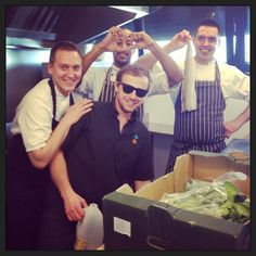 The kitchen team happier than ever!