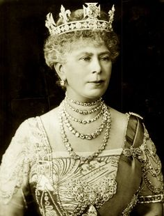 Queen Mary of Great Britain. C 1920.