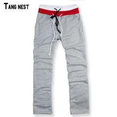 TANGNEST Men Pants Casual 2017 New Fashion Men's Straight Pants Full Length Spring&Summer Thin Trousers Solid For Man B438 #Affiliate