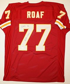 Amazon.com  Signed Willie Roaf Jersey - HOF Red W - JSA Certified -  Autographed NFL Jerseys  Sports Collectibles cd519b340