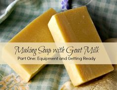 I've been making goat milk soap for almost ten years. I just can't tell you how superior it is to store-bought soap. The fat in the milk mak...