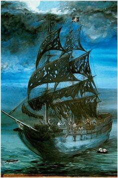 The Black Pearl Ship