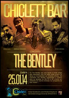 Concerto: The Bentley > 25 Jan 2014 @ Chiclett Bar, Vale de Cambra #ValeDeCambra