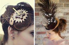 steampunk wedding ideas | Steampunk Inspired Wedding Hair Accessories | Unique Wedding Ideas