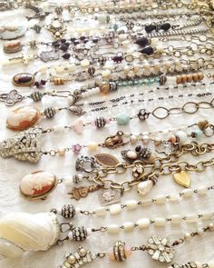 necklace line-up
