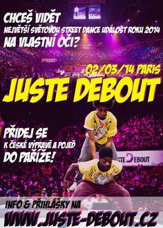 Zájezd na Juste Debout 2014 Dance News, Street Dance, Jena, Comic Books, Paris, Comics, Cover, Montmartre Paris, Paris France