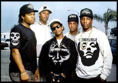 hardcore + gangsta rap