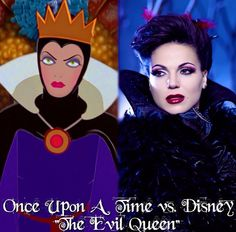 """Once Upon a Time vs. Disney """"The Evil Queen"""""""
