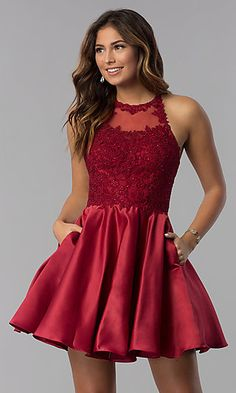 Shop for homecoming dresses and short semi-formal party dresses at Simply Dresses. Semi-formal homecoming dresses, short party dresses, hoco dresses, and dresses for homecoming events. Cute Short Prom Dresses, Homecoming Dresses Tight, Short Lace Dress, Hoco Dresses, Sexy Dresses, Cute Dresses, Summer Dresses, Wedding Dresses, Casual Dresses