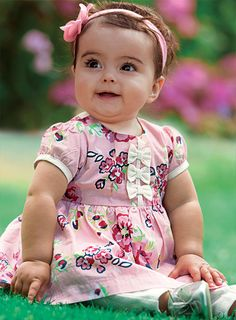 Baby Girl Clothes Online - Pumpkin Patch USA {she is gorgeous and so is her outfit} Cute Outfits For Kids, Cute Kids, Cute Baby Girl, Cute Babies, Baby Girl Fashion, Kids Fashion, Future Daughter, Modern Kids, Baby Kids Clothes