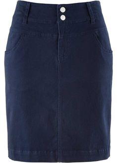 Strečová sukně s podílem Lycry, bpc bonprix collection