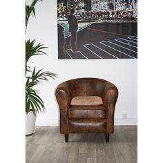 Canapé et fauteuil - MOUN - MOUN Fauteuil, tissu, chocolat