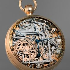 Men Vintage Pocket Watch Antique Watch Mechanical Hand Wind Skeleton Watch, Steampunk watch; Gift for Him, Anniversary, Weddings, Groomsman