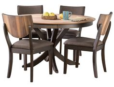 Slumberland cayman collection dining set town house slumberland skagway collection 5pc dining table set workwithnaturefo