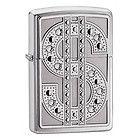 Zippo Bling Dollar Sign Metal Lighter - Bling 20904 - 20904, Bling, dollar, Lighter, Metal, Sign, Zippo