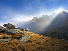 High resolution nature desktop wallpaper of Tatra Mountains, Slovakia (ID: Of Wallpaper, Nature Wallpaper, Tatra Mountains, Carpathian Mountains, Beyond The Horizon, Mountain Wallpaper, Nature Hd, Looking Out The Window, Central Europe
