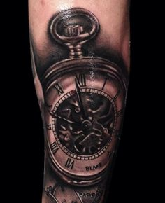 1000 images about timepiece tattoos on pinterest clock for Time piece tattoos