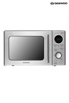 Buy Touch Dial Control Microwave by Daewoo from the Next UK online shop Hand Blender, Space Saving Storage, Pan Set, Stay Cool, Kitchen Essentials, Next Uk, Sophisticated Style, Cleaning Wipes, Microwave