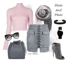 """""""Hints and Hues"""" by debbie-michailides ❤ liked on Polyvore featuring BeckSöndergaard, A.L.C., WithChic, Alexander McQueen, She.Rise, Rado and Givenchy"""