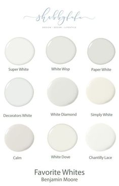 How To Select The Best Neutral Shades Of Paint And My Favorite White Paints From Benjamin Moore Generalcontractor Designtips Design