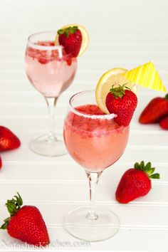 strawberry party punch.
