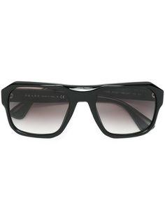 Shop Prada Eyewear 'Exclusive Collection' squared sunglasses.