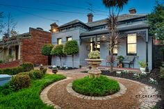 Bespoke real estate photography and video for inner city Melbourne's most prestigious properties. Clifton Hill, Real Estate Photography, Melbourne, Mansions, Lifestyle, Facades, Street, House Styles, City