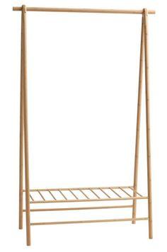 Suport umerase VANDSTED bambus | JYSK Bali Decor, Clothes Rail, Minimalist Home Decor, Cabin Homes, Wardrobe Rack, Interior Inspiration, New Homes, Room Decor, Crafts