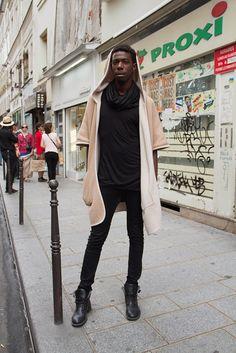 Style in Paris, Jeremy   Backstyle