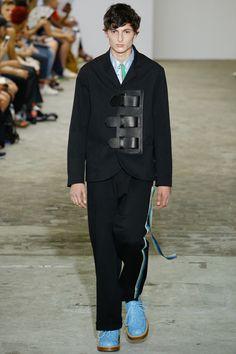 Walter Van Beirendonck showed his Spring/Summer 2017collection during Paris Fashion Week.