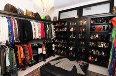 Ideas para tu vestidor: elegancia en color negro – Decoración de Interiores | Opendeco