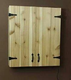 DIY Dartboard cupboard.: