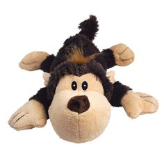 KONG Spunky Monkey Cozie Dog Toy, Small ** Discover this special product, click the image (This is an amazon affiliate link. I may earn commission from it)
