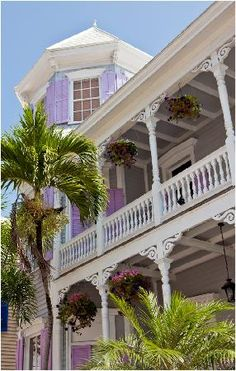Turret Victorian Style, The Artist House, Key West, FL