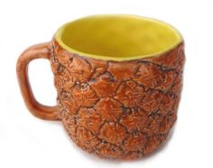 Pineapple Mug - Troy could make this for sure!