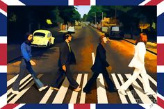 Abbey Road Digital Art by Tommy Anderson - Abbey Road Fine Art Prints and Posters for Sale