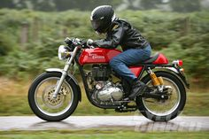 2014 Royal Enfield Continental GT – First Ride The Other New Indian is an Ace Café Racer ready to take on the world.