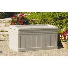 Outdoor Suncast Nexus Premium 22 Gallon Small Deck Box   SS900   SS900. |  Products, Decks And Deck Box