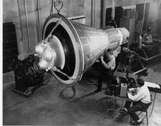 Space Shuttle Photographic Print: Engineers Inspect And Test a Boilerplate Mercury Space Capsule by Stocktrek Images : - Soyuz Spacecraft, Project Mercury, Nasa Space Program, Apollo Program, Nasa Astronauts, Space Race, International Space Station, Lost In Space, Space And Astronomy
