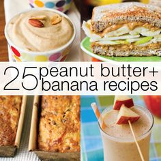 25 Peanut Butter and Banana Recipes (Elvis would be proud!)