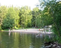 The second beach in Oittaa (Espoo, Finland).